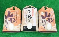 中山町のお米の詰合せ2種セット