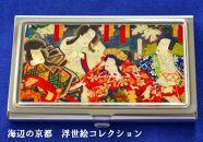 七宝かさね京琥珀の名刺ケース(義経千本桜)