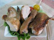 静内赤ひげ人気商品若鶏の半身焼き(カット)