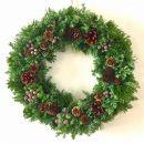 【ギフト用】美流渡の森フレッシュ・クリスマスリース