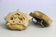伝統的工芸士が制作したミニ獅子頭「帯留め」