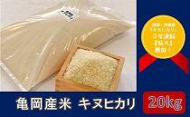 亀岡産米 キヌヒカリ 20kg