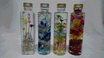 ◆ハーバリウム【アソート】 フラワーボトル4本セット
