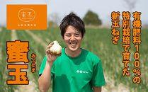 2019年度産 淡路島新玉ねぎ「蜜玉」5kg(有機肥料100%)