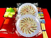 ★受付終了★鯛しゃぶ『素麺』セット (4~5人前)