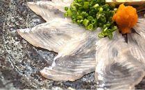 【刺身用】佐伯産カボスひらめ 低温熟成魚切り身 約200g
