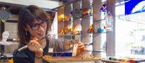 【長浜観光協会厳選】黒壁スクエアステンドグラス工房でステンドグラス体験(テーブルランプ)