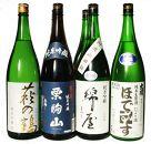 栗原3酒蔵の吟醸純米『綿屋・栗駒山・萩の鶴』飲み比べ6本詰合せ