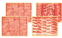 鹿児島県産和牛・黒豚焼肉セット