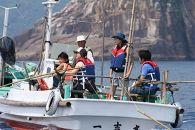 (漁業体験)1泊2日のケンケン漁とタコかご漁体験