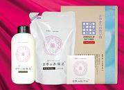 絹ふくれ浴用タオルセット&まゆのお風呂・まゆの石けんセット