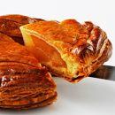 カリカリに焼いたりんごパイ+しあわせのおすそわけ(近江かぶせ茶 もしくは 近江黒豆きなこ)