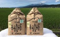 平成30年産有機栽培米つや姫6kgYU<有機米の佐藤農場>