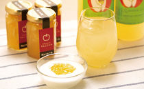 【ポイント交換専用】やいた特産完熟りんごジュース2本入り林檎ジャム3個入りセット