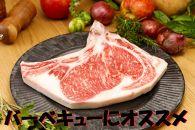 長崎和牛出島ばらいろLボーン(骨付きロース)ステーキ