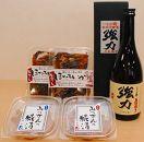 鳥取地酒とおつまみセット