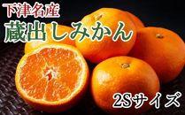 【産直】下津蔵出しみかん約5kg(2Sサイズ)