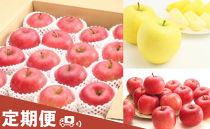 AP69山形県産りんご三昧セット【年3回定期便】【2020年度発送】