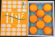 愛媛オリジナル品種「ハウス甘平」(秀品3kg)[12月~受付/1月~お届け]
