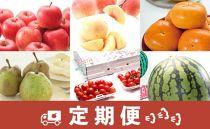 AP80-NT【定期便】山形県産人気フルーツ食べ切りセット年6回コース【2020年度発送】