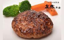 美豚本店 プレミアム松阪豚ハンバーグセット