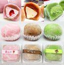 もっちり柔らか♪生クリーム大福3種セット(カフェオレ、苺オレ、抹茶オレ)北海道・新ひだか町の和生菓子