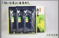 【お茶の光玉園】八女煎茶100g×3本セット