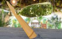 「京銘竹ボトルスタンド白竹」京都の竹垣職人ハンドメイド
