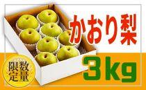 BP025♪フルーツ王国山形♪かおり梨3kg