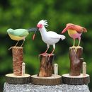 野鳥こけし(3羽セット)