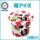 苺アイス 12個入/久保田食品/サイズ4/アイス/添加物不使用