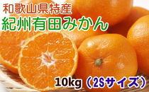 ■【厳選・産直】紀州有田みかん10kg(2Sサイズ)[2020年11月~発送]