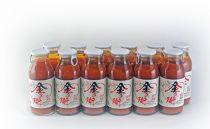 七色の味のトマトのジュース「金兵衛」(12本)