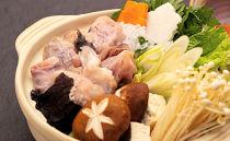 老舗割烹料理店のあんこう鍋セット(4人前)