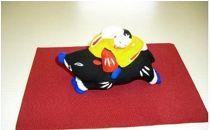 【長谷寺詣で人気の土産品】出雲人形(猪乗り)