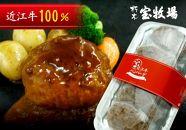 ◆【20個入】近江牛デミグラスハンバーグ