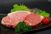 【黒毛和牛】特選サーロイン600g、特選ヘレステーキ300gの贅沢ステーキセット