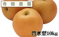 自然豊かな山陰からおいしい豊水梨をお届け!10kg(DK104SM)