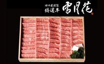 A5飛騨牛焼肉用約1kg