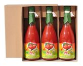 大雪山伏流水育ち「輝赤」のトマトジュース