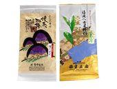 <八女茶飲みくらべ>緑茶を楽しむ特選玉露100gと特上煎茶100g(各1袋)