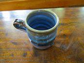 「【楢岡焼】ロクロ目マグカップ(化粧箱つき)」楢岡陶苑