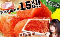 1.5キロ!出島屋オリジナル辛子明太子