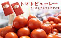 トマトピューレー(クッキングトマトすずこま)10パック