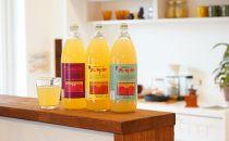江刺りんごジュース三姉妹(1000ml瓶×6本) ストレート果汁100%