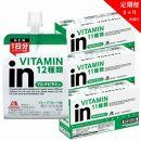 【定期便】inゼリーマルチビタミン18個入り(4か月連続お届け)2-C-4