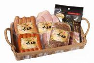 和歌山県産イノブタ「イブ美豚」ハムウィンナーセット5種B