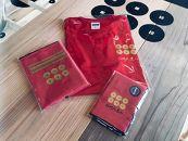 紀州戦国屋オリジナル・紀州九度山真田幸村セット(赤)<Tシャツサイズ:L>
