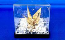【真鍮鶴】鶴の恩返し日頃の感謝を込めて