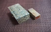 雅印(青田石)3分(7~10mm)箱入り 3文字まで